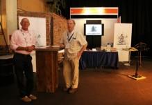 Henk Bijlsma en Aad Graafland vertegenwoordigen de SGF tijdens het congres 2014